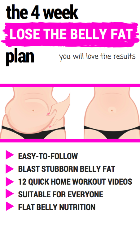 How to Lose belly fat - with easy to follow belly fat loss ...
