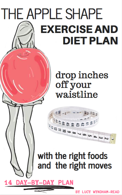 apple shaped body diet plan