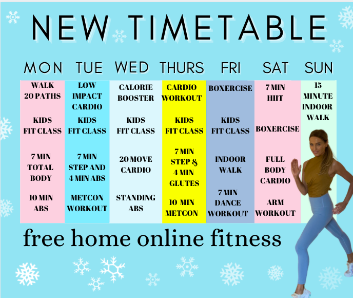 Free home fitness